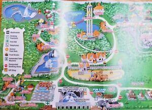 Marineland Canada Map Park Map: Marineland 2014   Niagra Falls, ON Canada
