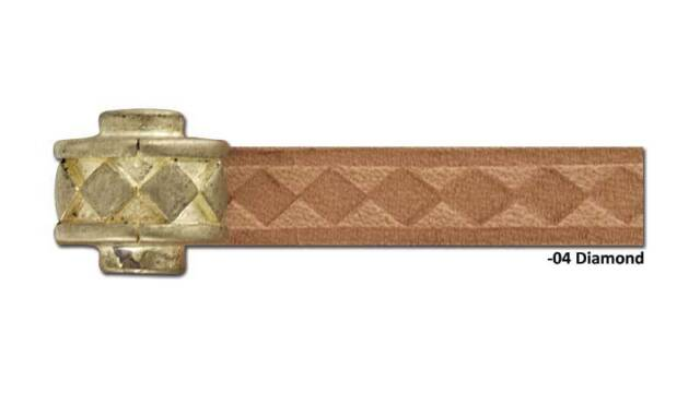 Craftool Pro Fine Diamond Chisel 4-Prong 3mm Tandy Leather 88056-04