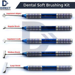 Dental-Soft-Brushing-Kit-PRF-Lingual-Tissue-Flap-Surgery-Implant-Instruments-CE