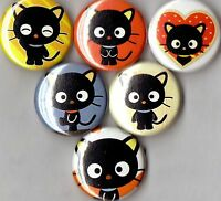 Chococat 6 Pins Buttons Badges Sanrio