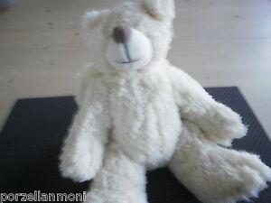 Teddy  mit Flügeln Plüsch creme  Neu