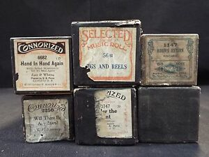 (6) Piano Rolls Robin's Return - Jigs & Reels & 4 More Titles (#40) UcnbGJQl-08134105-291710788