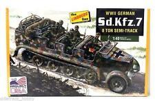 Lindberg HL-416 1/40 Scale German Half-Track Personnel Carrier Plastic Model Kit