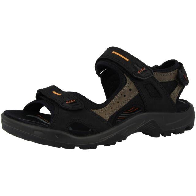 2329d7e78ef915 Ecco Offroad Yucatan Men Herren Sandale Trekking Schuhe black mole  069564-50034