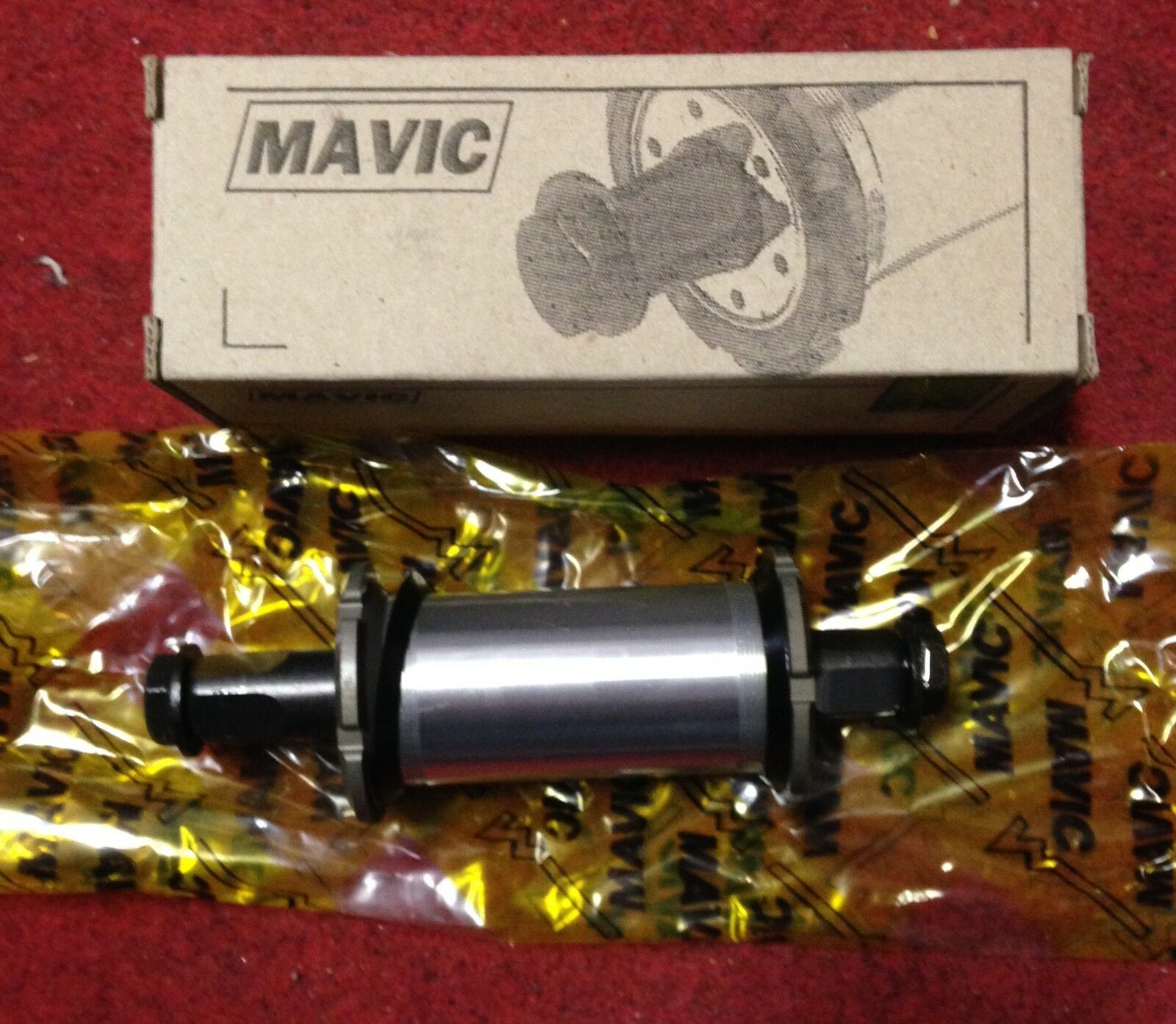 Bike Bottom Bracket Mavic 610 URD 123mm movimento movimento movimento centrale bici made in France 0b09bb