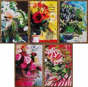 100-Glueckwunschkarten-zum-Geburtstag-Goldrand-9971-Geburtstagskarte-Grusskarte
