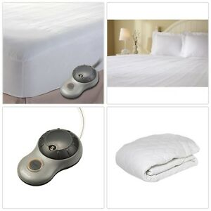 Heated Mattress Pad Queen Size Electric Warming Heat ...