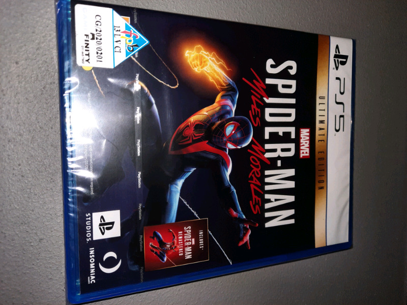 Spider-Man: Miles Morales: Ultimate Edition! (PS5) - Brand New Sealed