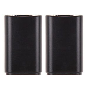 2X-AA-Battery-Back-Cover-Pack-Case-Replacement-XBOX-360-Wireless-Controller