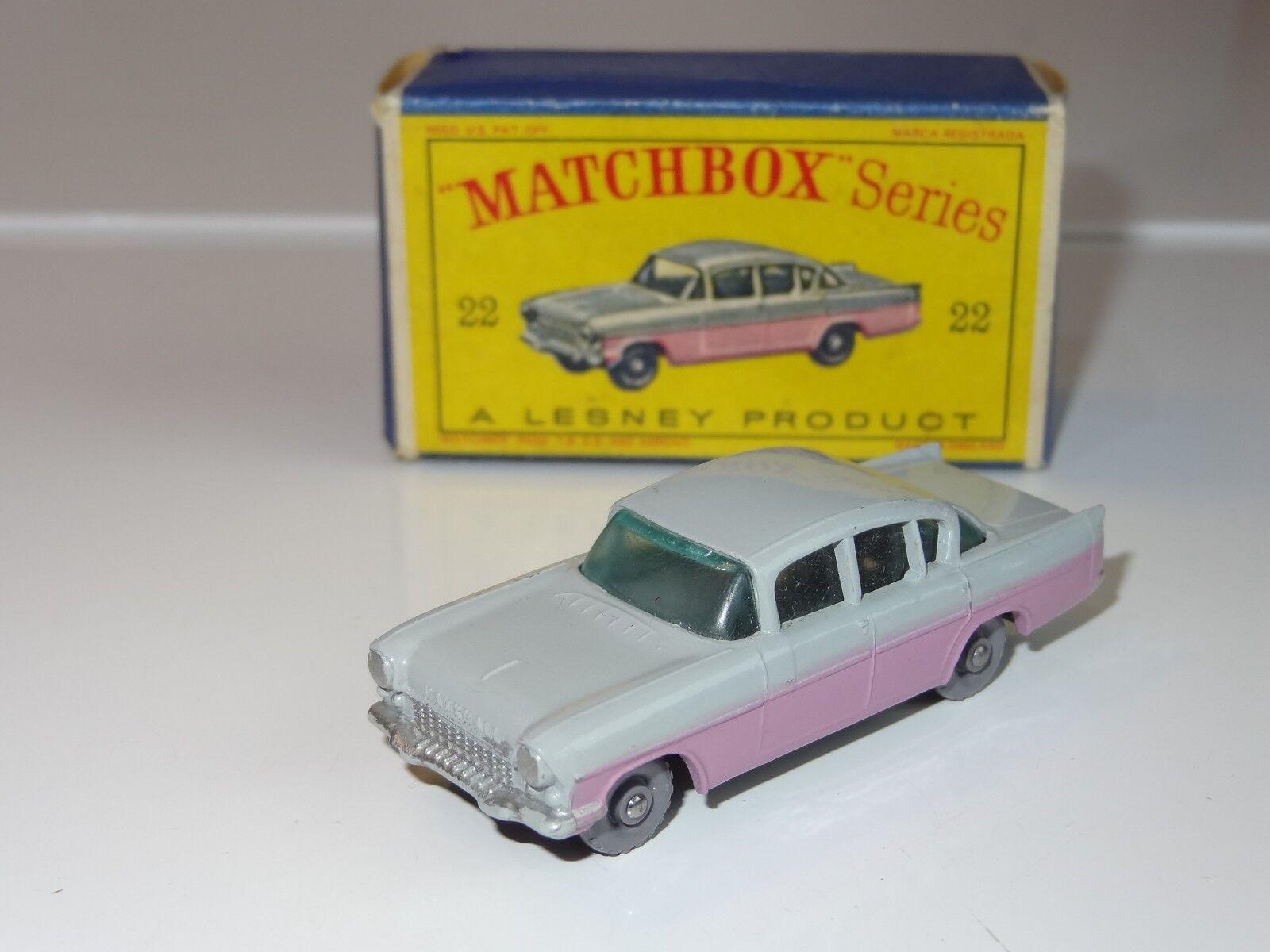 (H) matchbox VAUXHALL CRESTA - 22