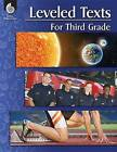 Leveled Texts for Third Grade by Shell Education Pub (Paperback / softback, 2016)