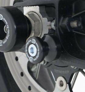 R-amp-G-Coppia-di-Colore-Nero-COTONE-bobine-per-KTM-690-SMCR-2015