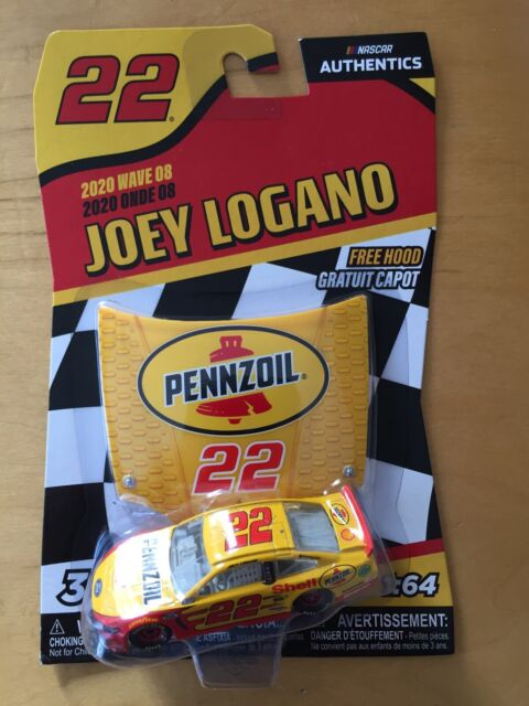 Joey Logano PENNZOIL NASCAR Authentics  2020 Wave 8 1/64 Die-Cast NEW