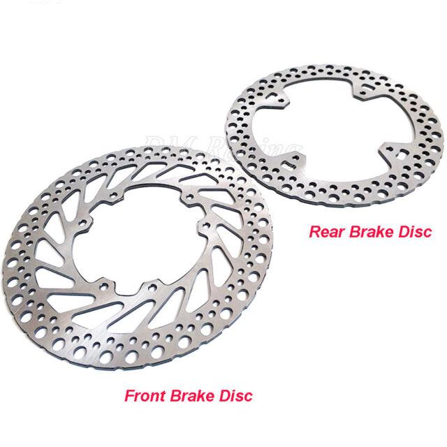 Front Rear Brake Disc Rotor For Honda CR125 250R CRF250R 250X CRF450R 450X 02-14