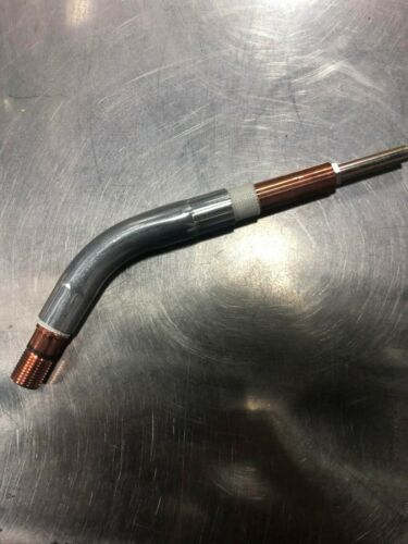 TWECO Style Swan Neck TW #4 64A45J Jacketed Tweco #4 Conductor Tube 46 Degree