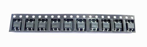 50 Stück SMD Brückengleichrichter Gleichrichter 420V 0,5A Mini-SMD Gehäuse MB6S