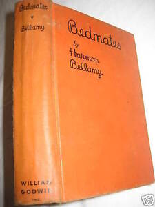 1st-Edition-BEDMATES-Harmon-Bellamy-FIRST-PRINTING-Controversial-Fiction-SEX-oop