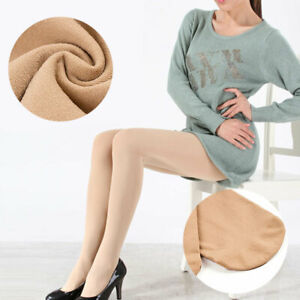 Women-Lady-120D-Skinny-Cashmere-Stockings-Pantyhose-Casual-Footed-Tights