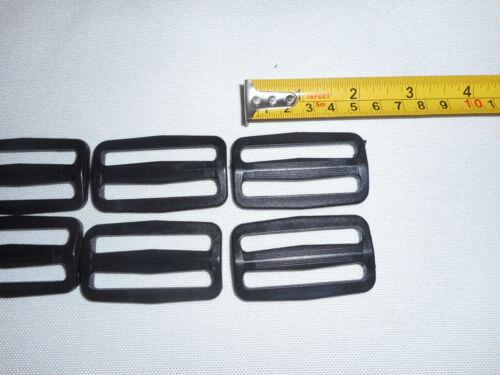 Triglides,Plastic Triglides 2 Inch sliders for webbing strap,12 piece heavy duty