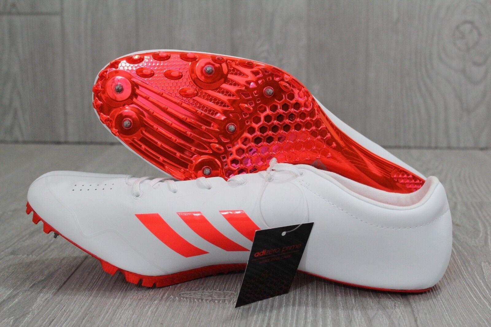30. adidas adizero prime weißen sp sprint track spitzen weißen prime orange sz 6.5-12.5 bb4117 dad390