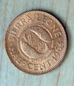 1964 Sierra Leone 1/2 Cent