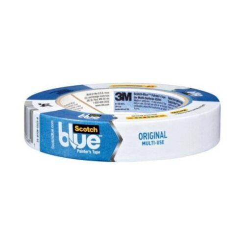 Adhesif Masquage Bleu 3M 2090 Longue Durée 50 M X 24 MM