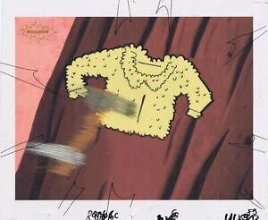 Ren & Stimpy Original 1990's Production Cel Animation Art Log