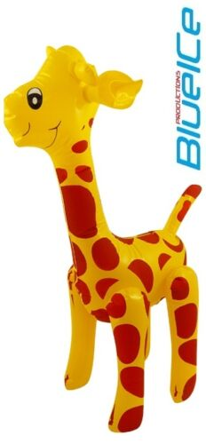 Inflatable GIRAFFE Children Boy BlowUp Toy Stag Party Fancy Dress Kids Play