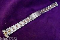 14mm Wenger Alpine Small Dual Time Bracelet Womens Stainless Watch Band