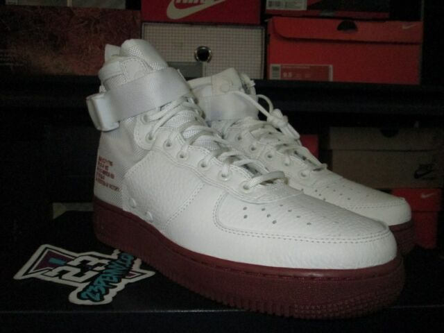 the best attitude f732e 2d8c6 Nike SF Af1 Mid Special Field Air Force 1 Ivory Mars Stone Zip Men  917753-100 10.5