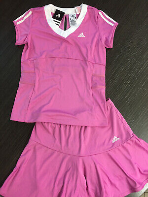 Adidas Completo Tennis Rosa Climacool T-shirt E Gonna