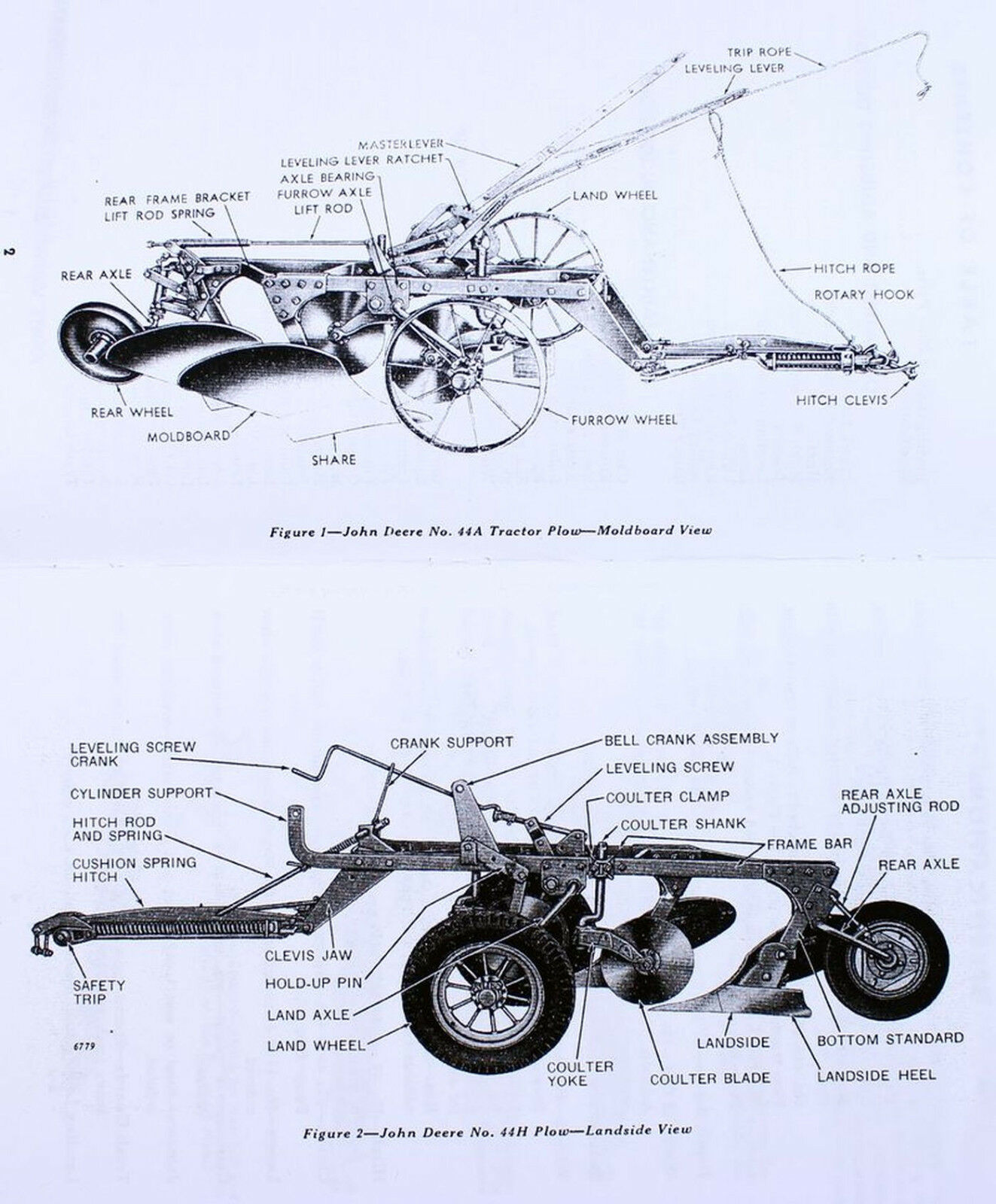 John Deere Plow Parts Diagram