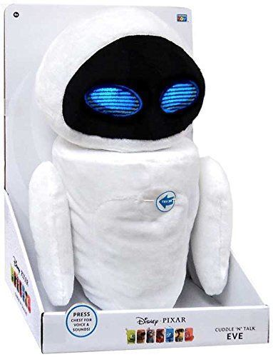 Disney Pixar 00082 Wall-E Cuddle N Talk 12 Inch Plush Eve Soft Toy