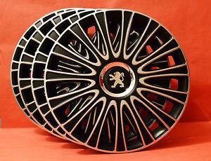 15-034-Peugeot-207-308-Partner-306-605-Wheel-Trims-Covers-Hub-Caps-Quantity-4