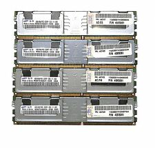 lot 43X5061 IBM SAMSUNG  16GB (4x4GB) PC2-5300F ECC REG SERVER M395T5163QZ4-CE68