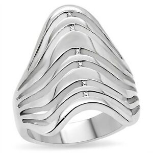 316L-Stainless-Steel-Stacked-Wave-Ring-Size-5-6-7-8-9