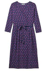 NEW-White-Stuff-Ladies-Purple-Aida-Wrap-Midi-Dress-Size-8-10-12-14-16-18