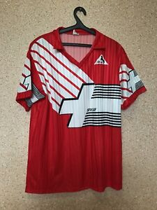 buy online e567d 52706 Details about Vintage Switzerland NATIONAL TEAM 90/92 HOME FOOTBALL SHIRT  JERSEY MAGLIA Blacky