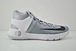 d449aae745 NIKE KD TREY 5 IV MEN S BASKETBALL SHOES WOLF GREY BLACK WHITE ...