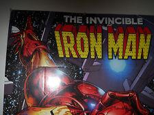 2008 INVINCIBLE IRON MAN POSTER 24 X 36  VF/NM