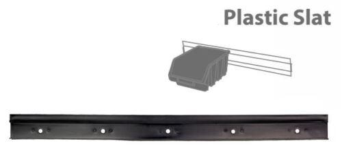 Plastique rail stockage kit 495mm support mural garage//entrepôt outil//bacs rack//board