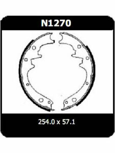 Protex-Brake-Shoes-FOR-FORD-FALCON-XT-N1270