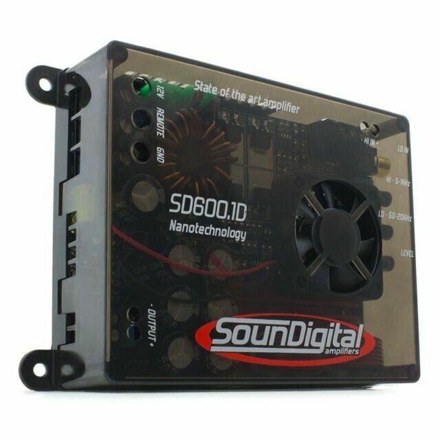 What is a monoblock amplifier