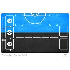 Pokemon Gym Playmat 2-Tone Blue - Pokemon Play Mat (PL0131)