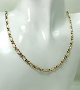 Very Nice 9 carat Gold Fancy Link Neck Chain 18 Inches