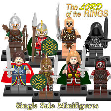 LEGO THE LORD OF THE RINGS EL SEÑOR DE LOS ANILLOS BLOCKS ARAGORN EOMER THEODEN.