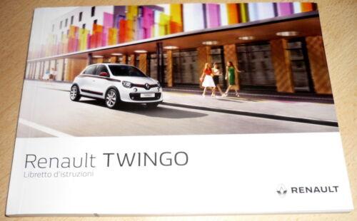 Renault TWINGO,uso manutenzione anno 2015//2016