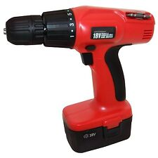 HEAVY DUTY 18V CORDLESS DRILL DRIVER SCREWDRIVER WITH BATTERY & 5 YEAR WARRANTY