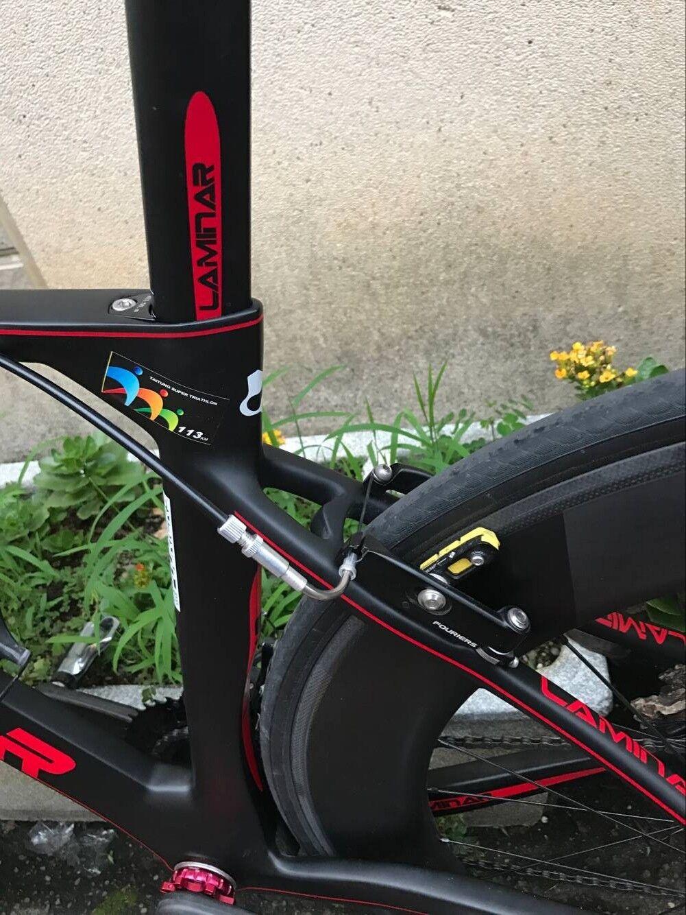 FOURIERS Aero V Brake Set For Giant Propel Road Bike S005 F+R Alloy rim pads