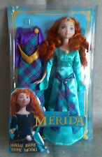 THE DISNEY PRINCESS BRAVE MERIDA DOLL WITH FASHION DRESSES BNIB Y3470